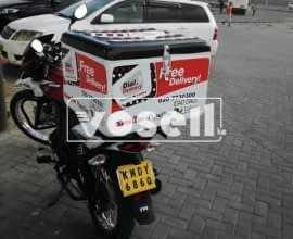DELIVERY BOXES FOR MOTORBIKES